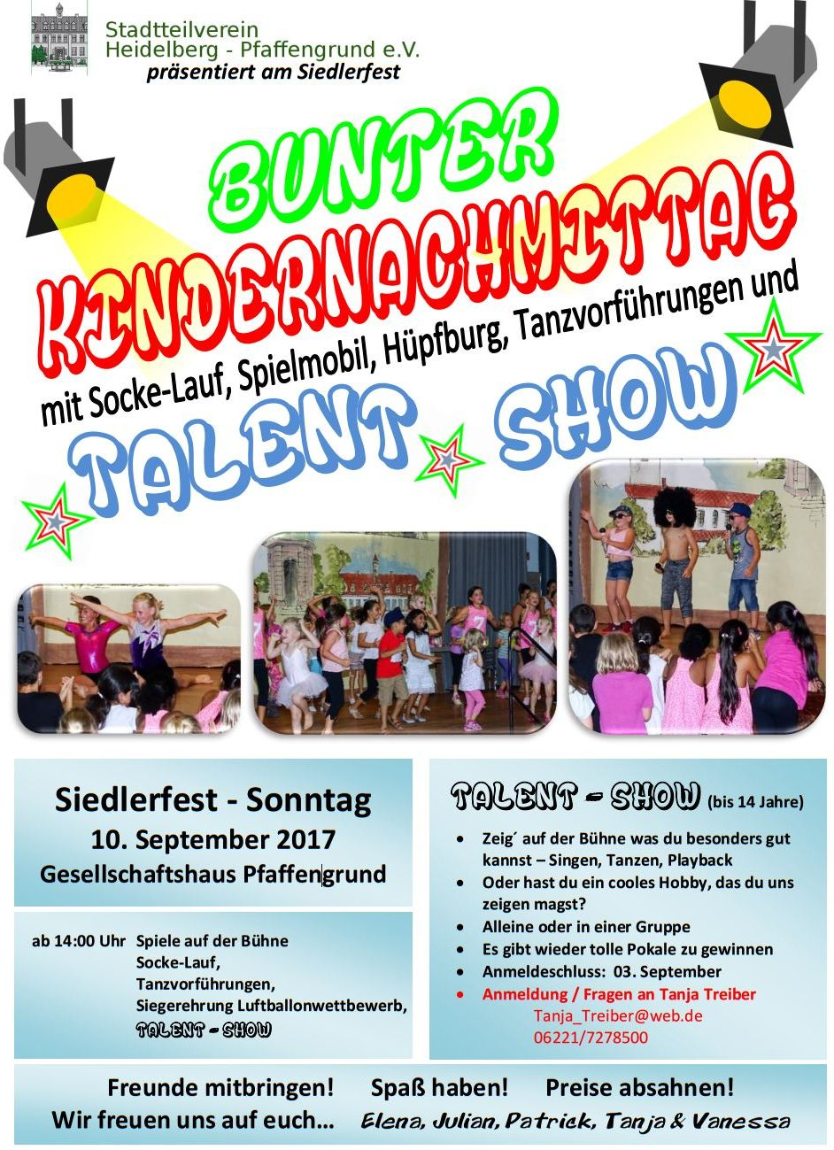 FlyerKindernachmittag2017